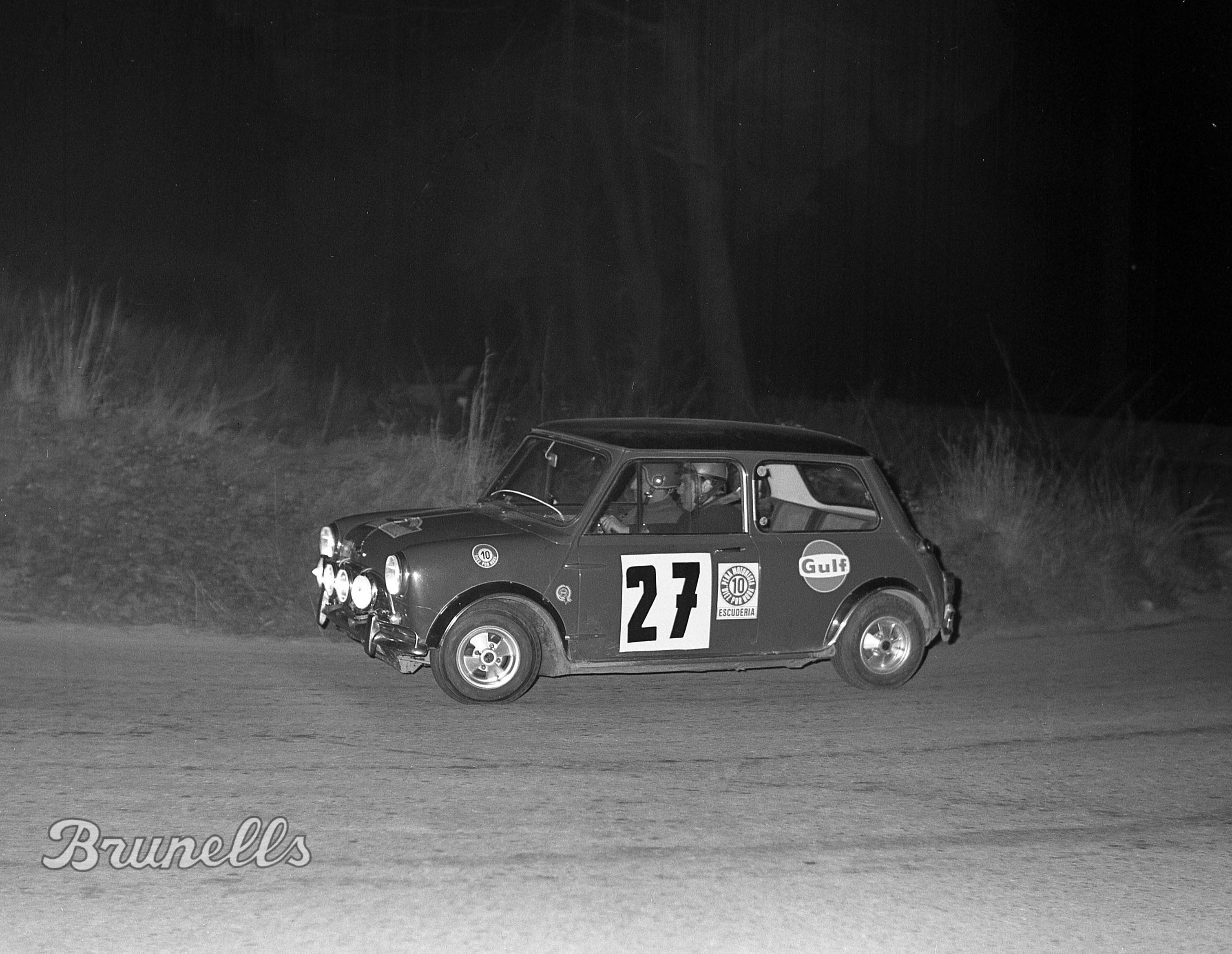 1969 BRUNELLS - Mini Cooper S - Rally Costa Brava - 8 Scratch