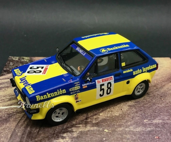 BRU25: Ford fiesta 1600 1981 Montseny