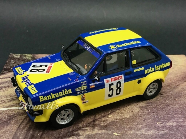 BRU25: Ford Fiesta 1.600 1981 Montseny