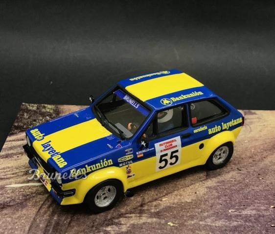 BRU26: Ford fiesta 1600 La Comella (last race)